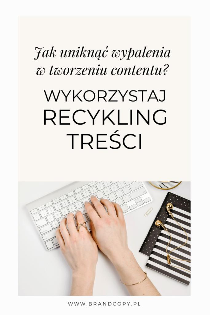 recykling treści_na czym polega